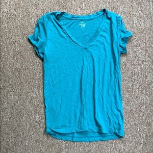 Featherweight Teal T Shirt